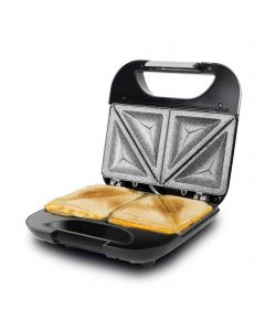 Sandwichera 750w cecotec rock'ntoast fifty fifty superficie de triangulos 3050