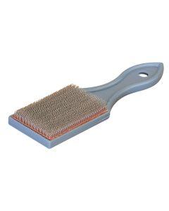 Cepillo industrial 75 mm jaz ma manual limpieza limas acero mc-1001