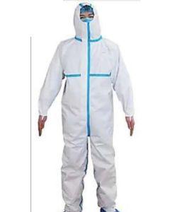 Mono trabajo 2xl desechable polipropileno con capucha reforzado me blanco