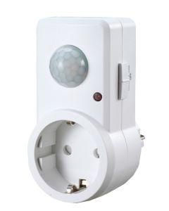 Detector movimiento infrarrojos 82x140x198mm garza 430044