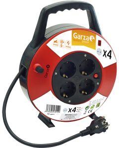 Alargador 4 tomas protección infantil 3000w garza 75x230x260mm