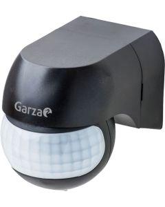 Detector movimiento infrarrojos negro garza 430069