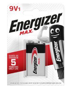 Pila 6lr61 alcalina 1ud 80x18x114mm max 9v 6lr61 energizer e301531800