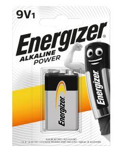 Pila 6lr61 alcalina 1ud 80x18x114mm bp1 br energizer e300127703