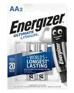 Pila aa lithium 2ud 80x15x114mm l91, aa energizer e301535200