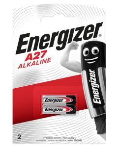 Pila a27 alcalina 2ud 80x11x120mm a27 bl2 energizer e301536400