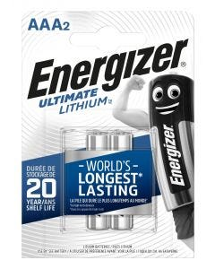 Pila aaa lithium 2ud 80x11x114mm aaa bl2 br energizer e301535600