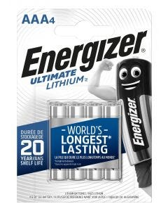 Pila aaa lithium 4ud 80x11x114mm aaa bl4 br energizer e301535700