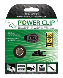 Luz emergencia luces clip on ajustables 21 lumenes 113x15x153mm panther vision
