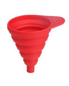 Embudo reposteria 225x115mm silicona rojo dr oetker