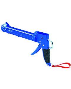 Pistola silicona giratoria cremallera reforzada antigoteo nivel