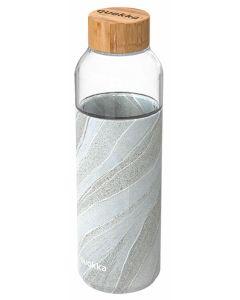 Botella bebida 660ml cristal white stone quokka 1 ud