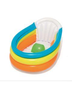 Bañera hinchable 76x48x33cm infantil bestway plastico up in & over 51134
