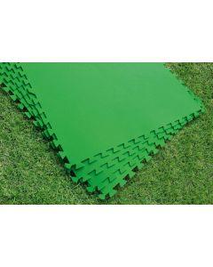 Suelo piscina 78x78cm encajable bestway eva verde 58265 9 pz