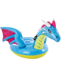 Colchoneta piscina 201x191 cm hinchable intex dragon ride-on 57563np