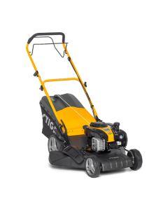 Cortacesped jardin 46cm gasolina stiga acero gris combi 48 sbq 140cc motor b&s 1