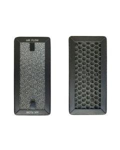 Filtro purificador 20x9,5x1,5 cm carbono pure 75 / pure 75 plus recambio filtro  133730