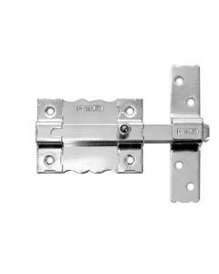 Pasador sobreponer llave/llave sin llave 120x25mm acero cromado 8 interfer