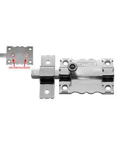 Pasador sobreponer sin llave 85x7mm acero cromado 6 interfer