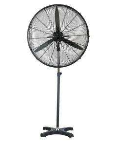 Ventilador climatizacion pie hjm acero negro vis680