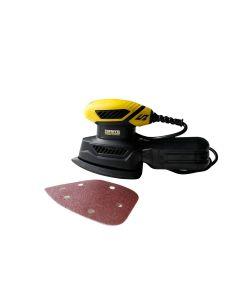 Lijadora orbital 130w mouse 140x140x80 mm . nivel