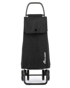 Carro compra 4 ruedas chasis alumino bolsa lisa mf negro akanto mf 4 rolser