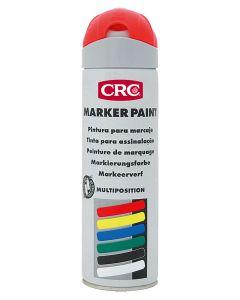 Pintura marcaje obra fluorescente spray rojo markerpaint crc