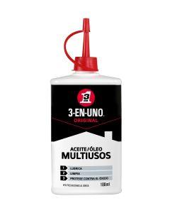 Aceite lubricante multiuso gotero 3-en-uno 100 ml