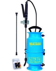 Pulverizador agricola presion previa lanza fibra vidrio juego de boquillas 4lt kima 6 matabi 83805