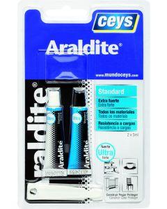 Adhesivo epoxy estandar maxima resistencia 5+5 ml araldit ceys
