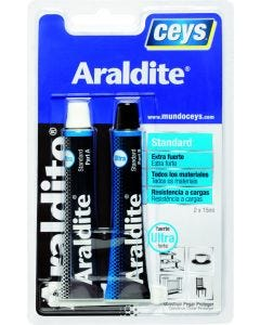 Adhesivo epoxy estandar maxima resistencia 15+15 ml araldit ceys