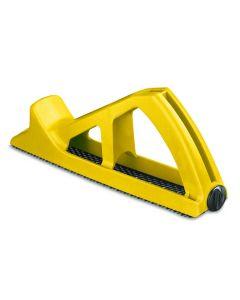 Cepillo carpintero hoja 255mm stanley amarillo ma surform sintetico 5-21-103