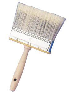 "Paletina pintura mango madera barnizada 5"" canaria rulo pluma"