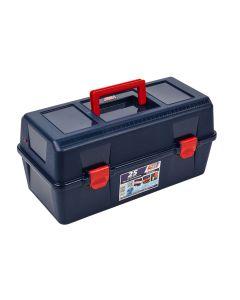 Caja herramientas bandeja y estuche 400x206x188mm polipropileno azul nº25 tayg