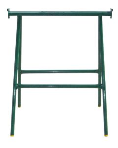 Caballete construccion fijo 1000mm metalico verde theca