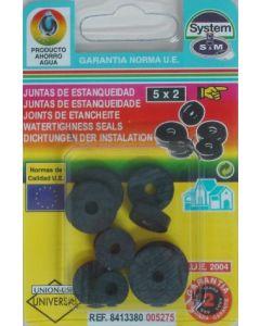 Junta fontaneria soleta grifo 10pz surtido s&m 10 pz 005275