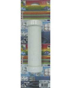 Alargador fontaneria tubos lisos 40mm pvc s&m
