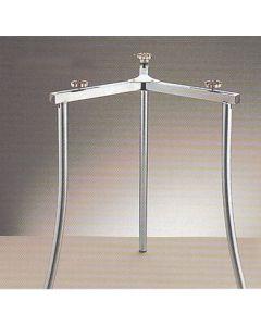 Soporte paellero universal hierro zincado rf 12 la ideal