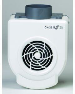 Extractor cocina centrifugo bandeja recogegrasa 250m3/h plastico ignifugo blanco