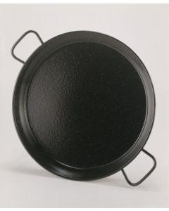 Paellera 12 raciones 046cm hierro esmaltado la ideal 20246