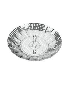 Cesto cocina vapor 14-23cm acero inox metaltex