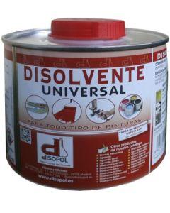 Disolvente universal envase metalico 500 ml nitro disopol