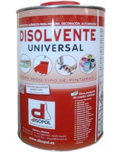 Disolvente universal envase metalico 1 lt nitro disopol