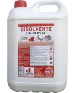 Disolvente universal envase plastico 5 lt nitro disopol