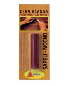 Cera emplastecer madera sapeli 25 gr promade  co