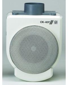 Extractor cocina centrifugo bandeja recogegrasa 360m3/h plastico ignifugo blanco