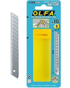 Cuchilla cutter 9x80mm olfa ma 10 pz ab-10b