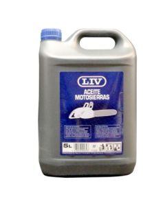 Aceite lubricante cadena motosierra 5 lt liv 079