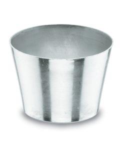 Flanero reposteria liso 08cm aluminio lacor