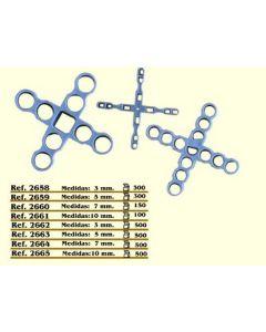 Cruceta construccion 10mm cv tools ma pavimentos revestimientos 100 pz 2661/10